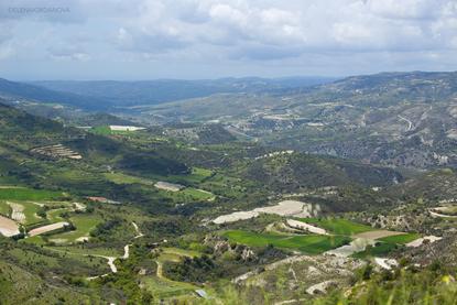 Ландшафт Кипра