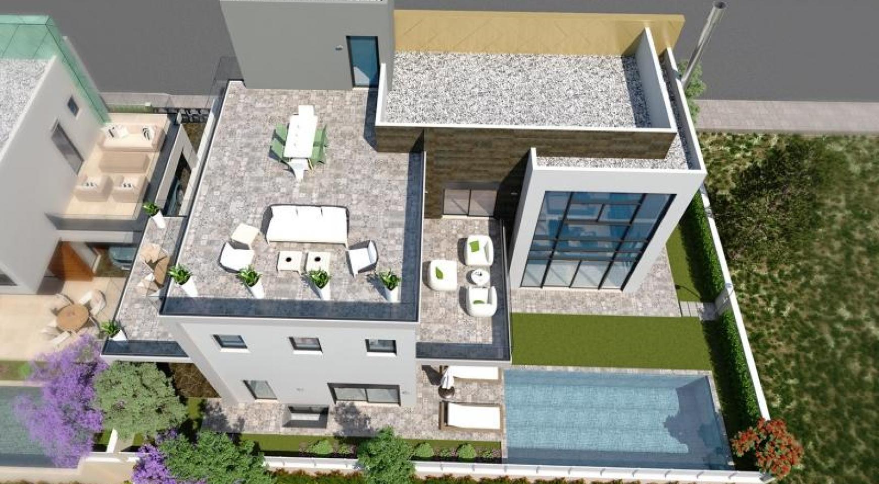 Новая Современная 5-Спальная Вилла возле Моря - 4