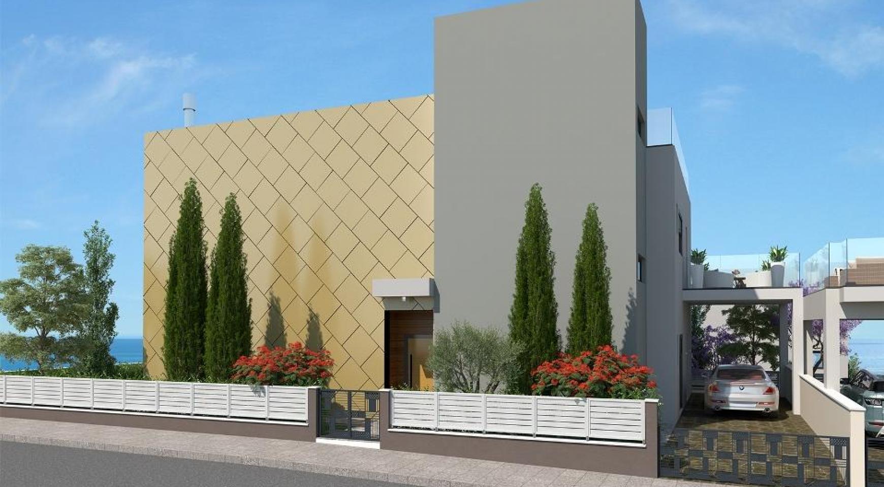 Новая Современная 5-Спальная Вилла возле Моря - 3