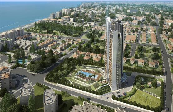 Sky Tower. Новая Просторная 2-Спальная Квартира в Элитном Комплексе