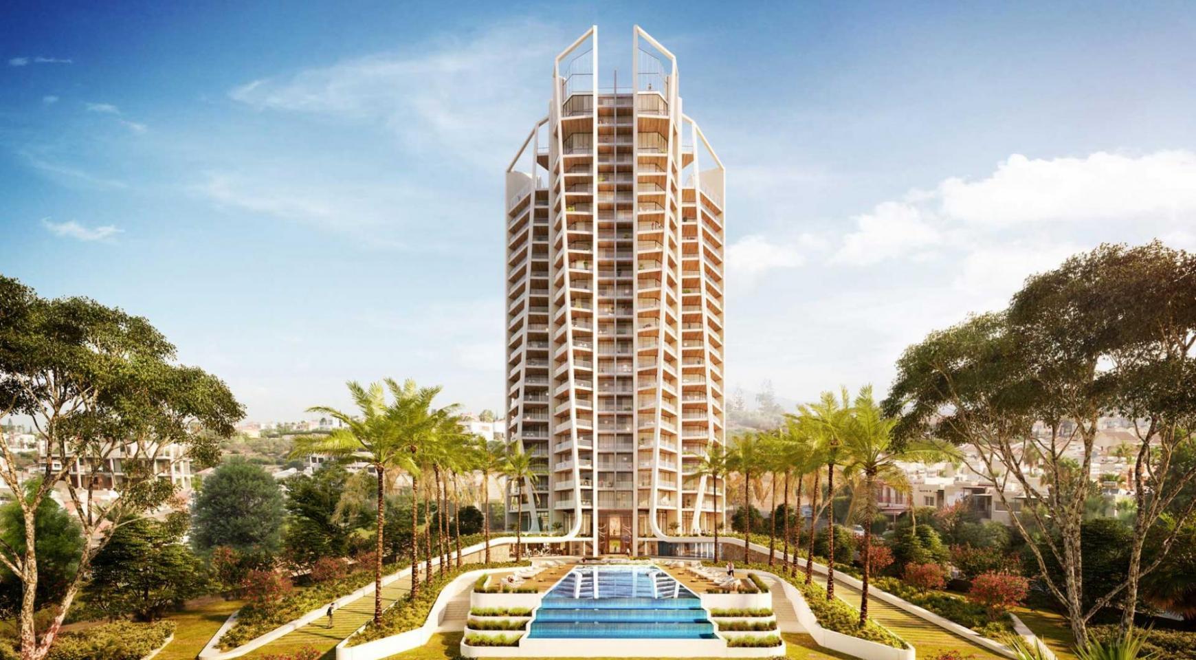 Sky Tower. Новая Элитная 2-Спальная Квартира 303 возле Моря - 6