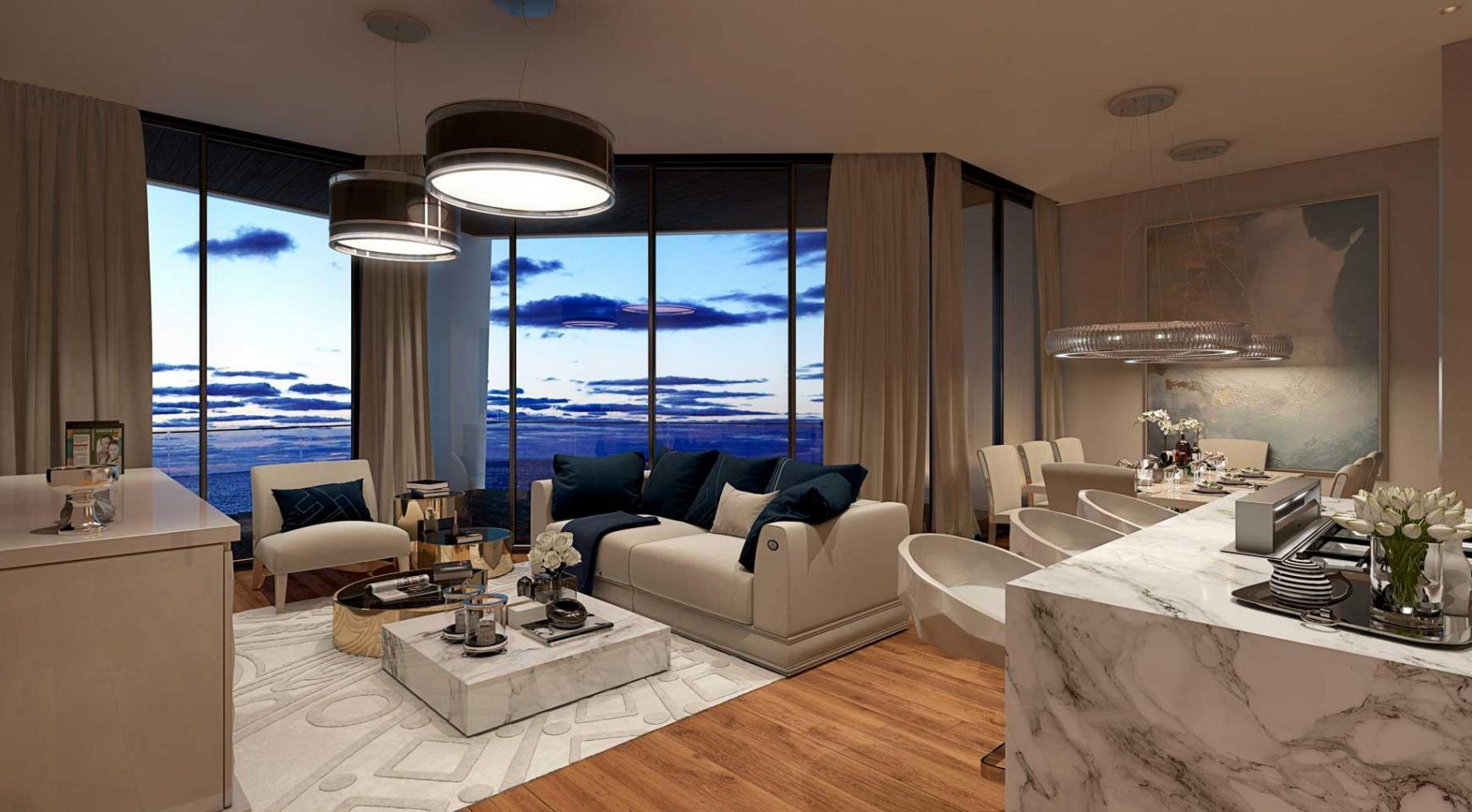 Sky Tower. Новая Элитная 2-Спальная Квартира 303 возле Моря - 25