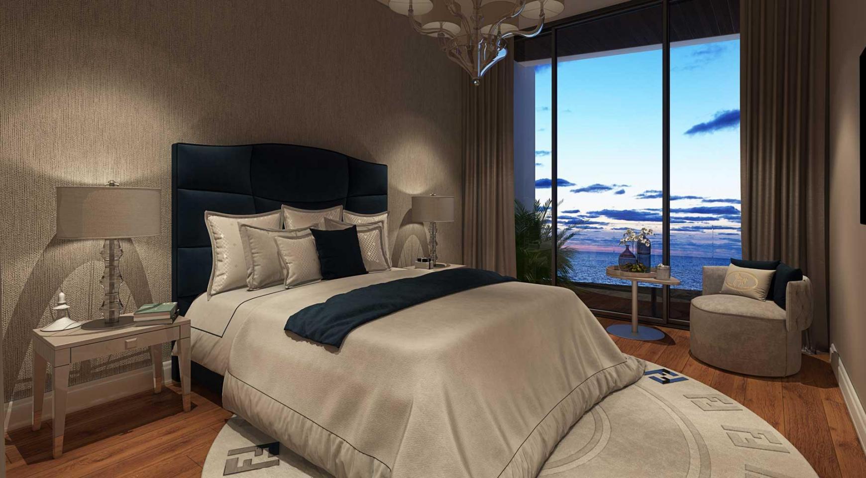 Sky Tower. Новая Элитная 2-Спальная Квартира 303 возле Моря - 26