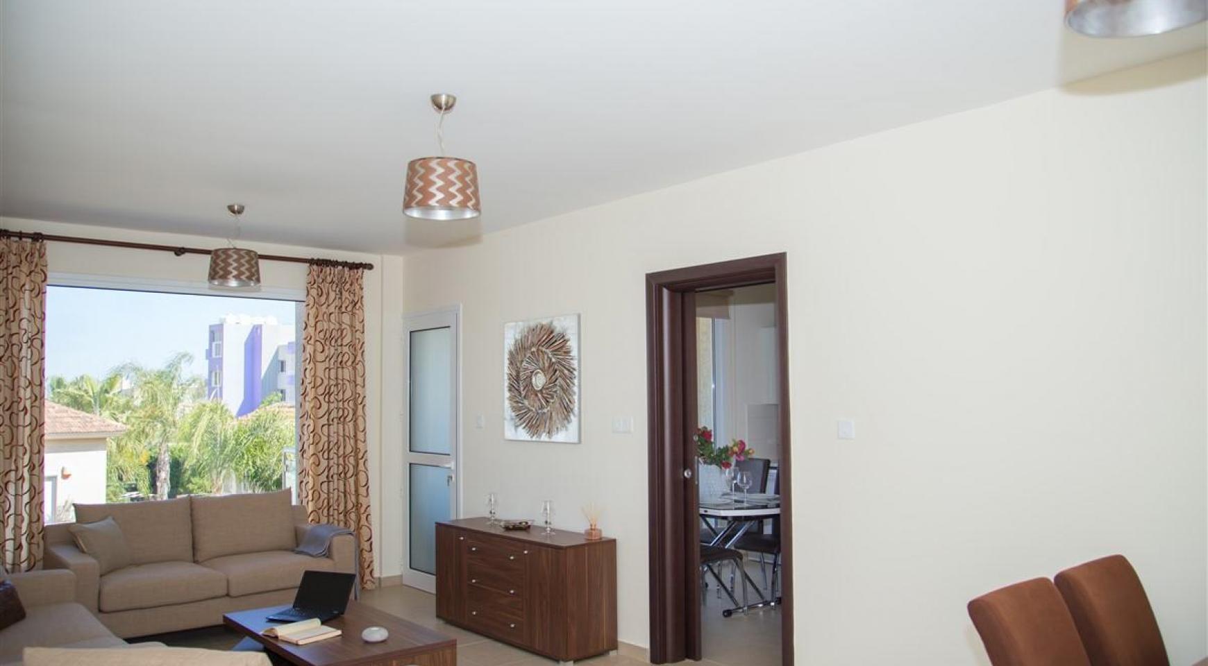 Современная  2-Спальная Квартира Christina 303 в Районе Потамос Гермасойя - 3