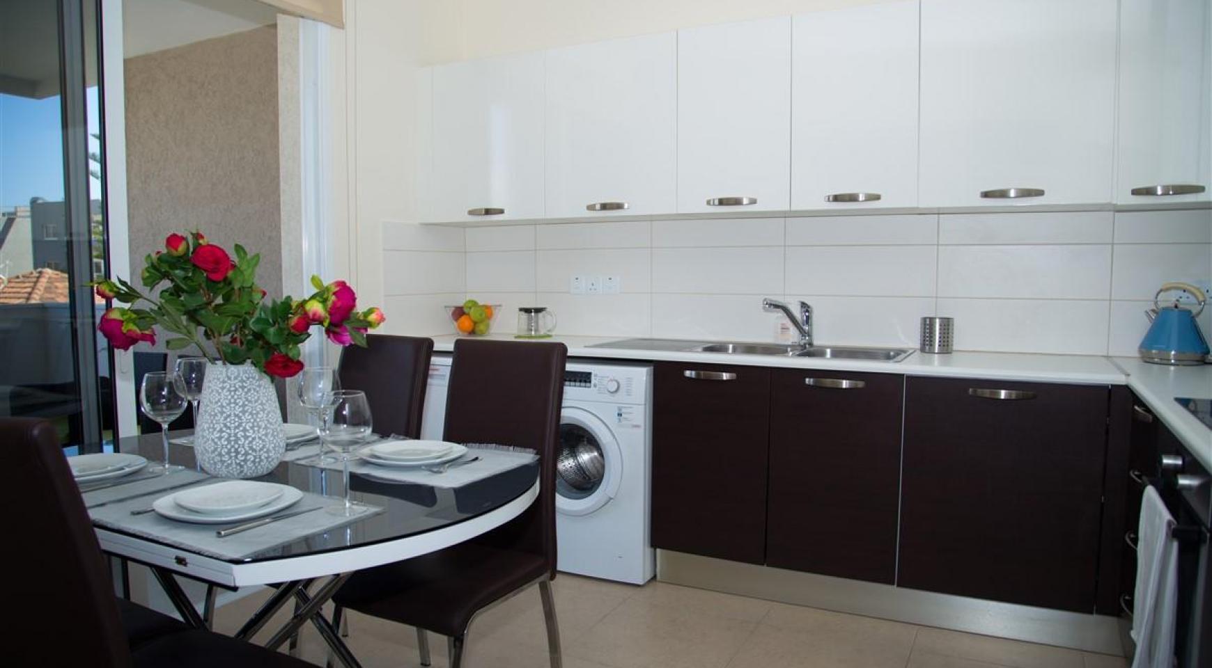 Современная  2-Спальная Квартира Christina 303 в Районе Потамос Гермасойя - 7