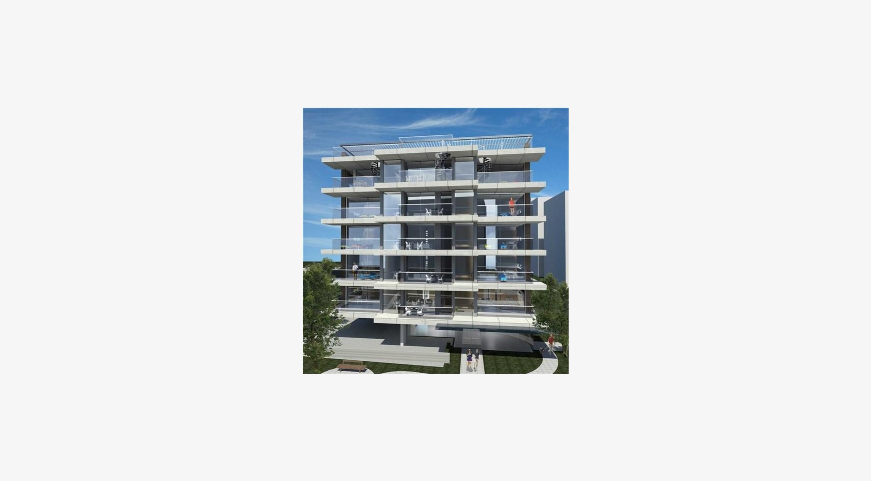 Новая Просторная Односпальная Квартира в Районе Неаполис - 4