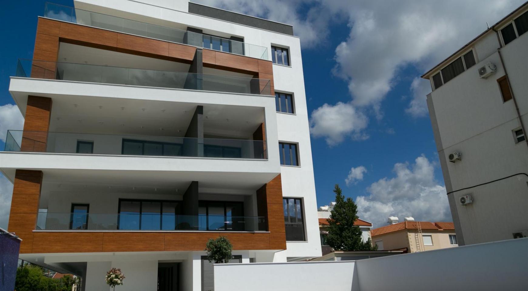 Malibu Residence. Современная Односпальная Квартира 101 в Районе Ротамос Гермасойя - 24