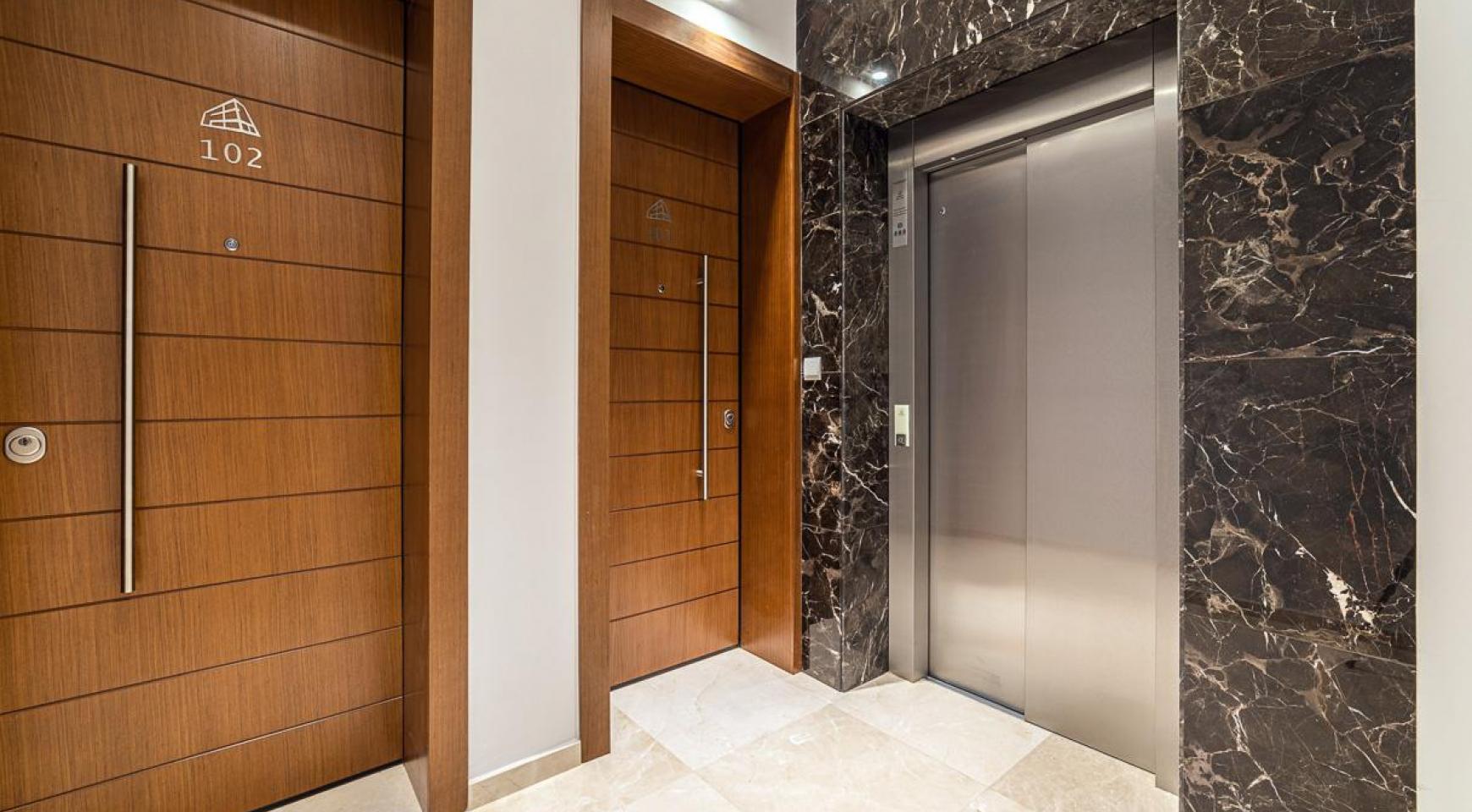 Malibu Residence. Современная Односпальная Квартира 101 в Районе Ротамос Гермасойя - 44