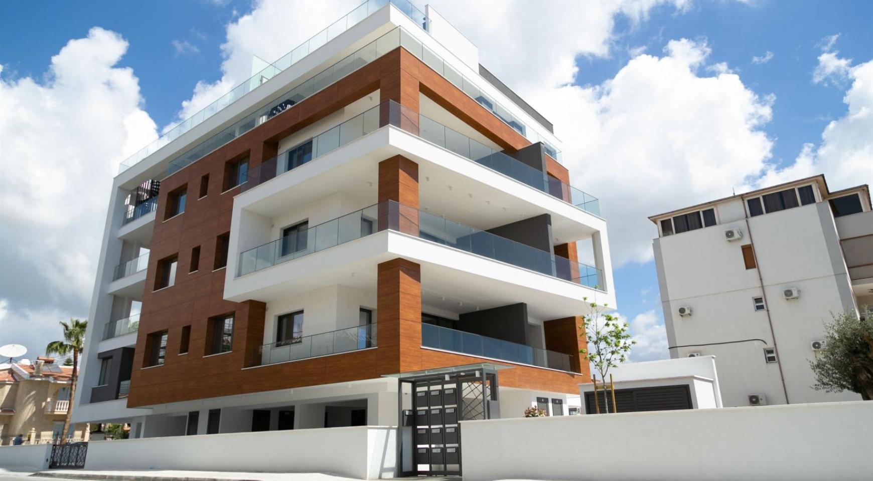 Malibu Residence. Современная Односпальная Квартира 101 в Районе Ротамос Гермасойя - 23