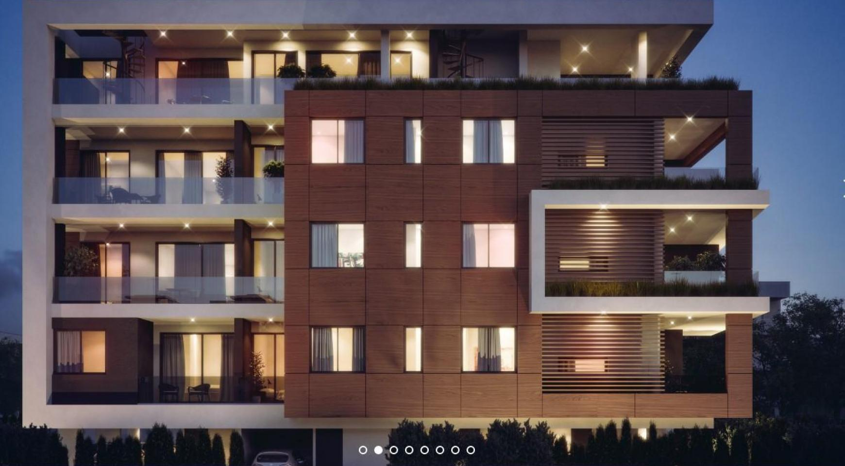 Malibu Residence. Современная  2-Спальная Квартира 104 в Районе Потамос Гермасойя - 2