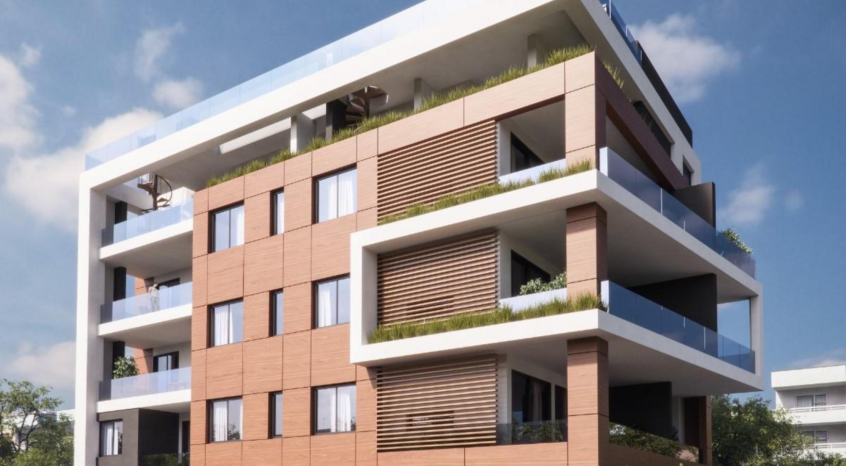 Malibu Residence. Современная  2-Спальная Квартира 104 в Районе Потамос Гермасойя - 8
