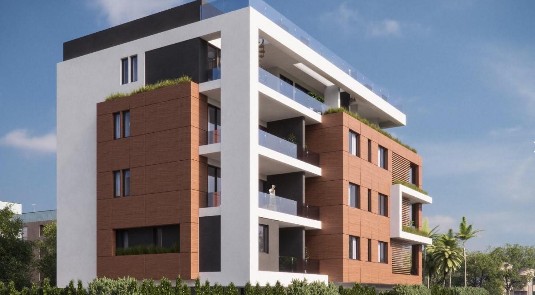 Malibu Residence. Современная  2-Спальная Квартира 104 в Районе Потамос Гермасойя - 5