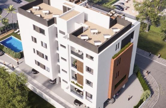 Malibu Residence. Элитная 2-Спальная Квартира 203 в Районе Потамос Гермасоя