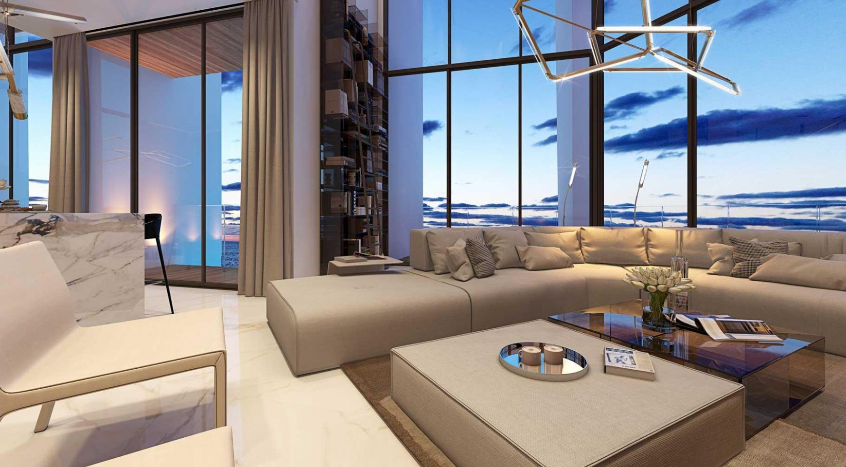 Sky Tower. Элитная 3-Спальная Квартира 505 с Видом на Море - 21
