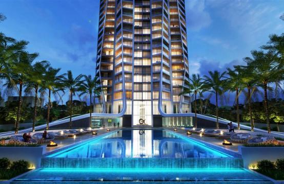 Sky Tower. Элитная 3-Спальная Квартира 505 с Видом на Море