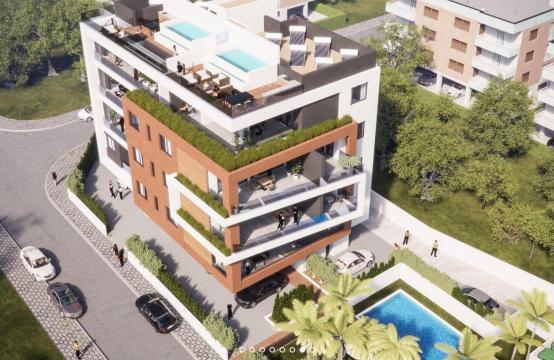 Malibu Residence. Современная 3-Спальная Квартира 103 в Районе Потамос Гермасойя