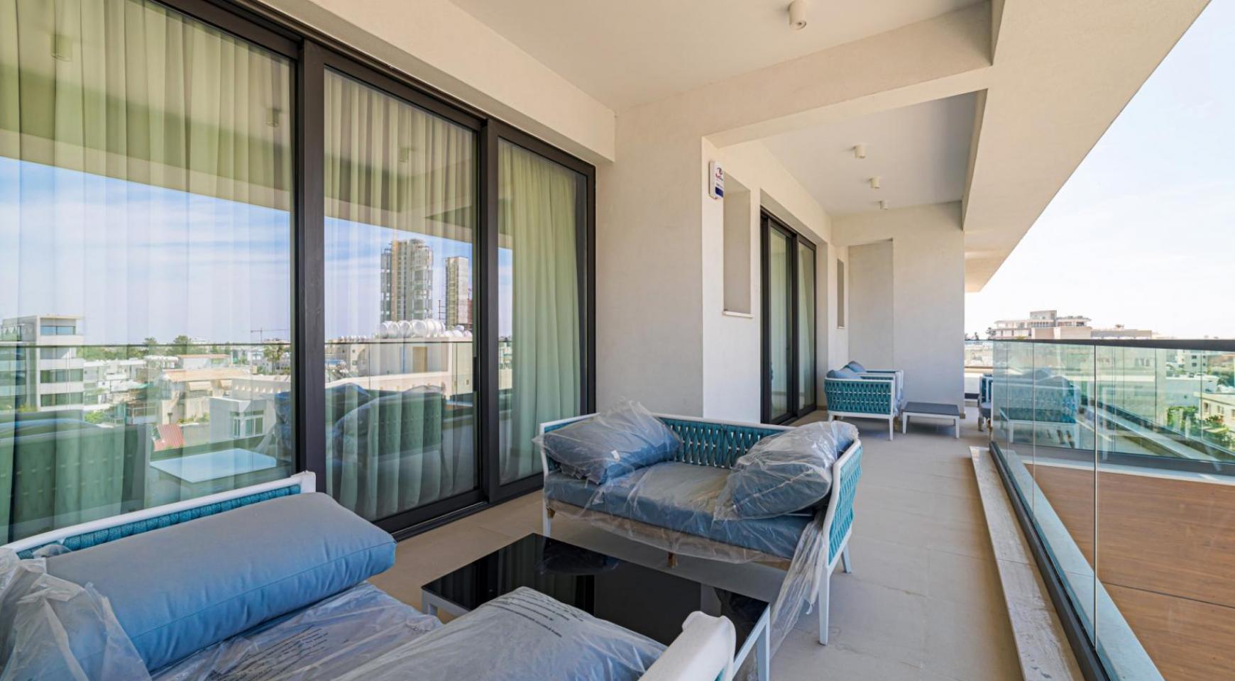 Malibu Residence. Элитный 3-Спальный Пентхаус 401 с Частным Бассейном - 32