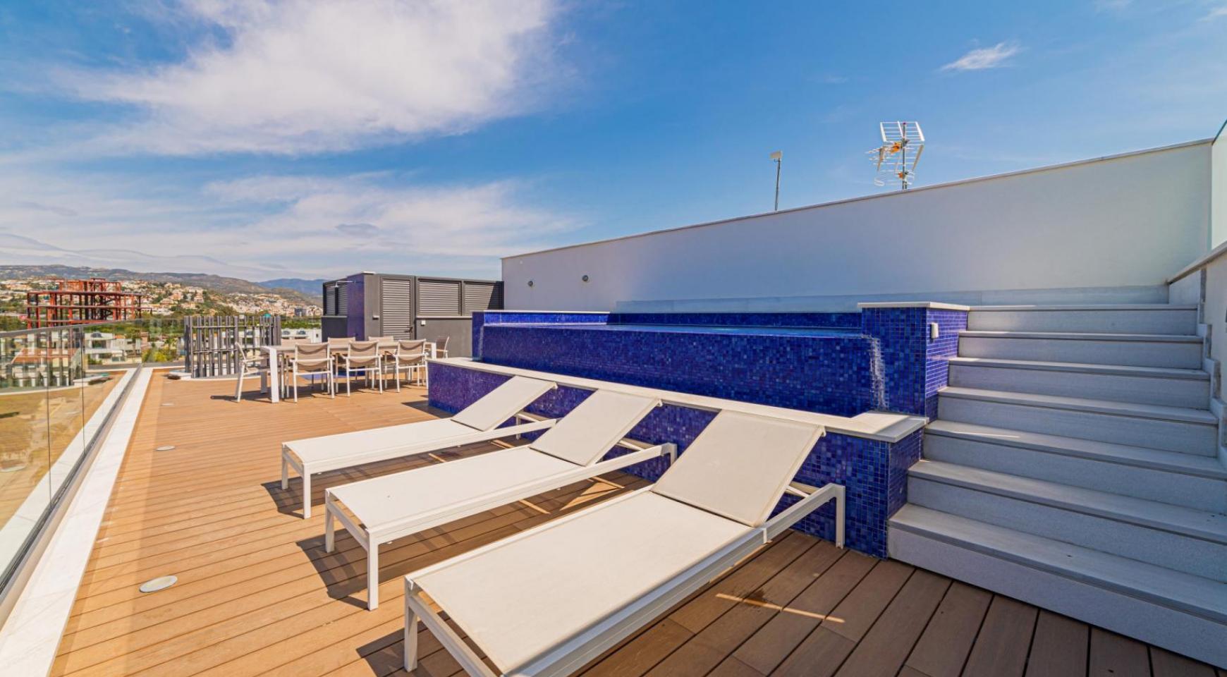 Malibu Residence. Элитный 3-Спальный Пентхаус 401 с Частным Бассейном - 38