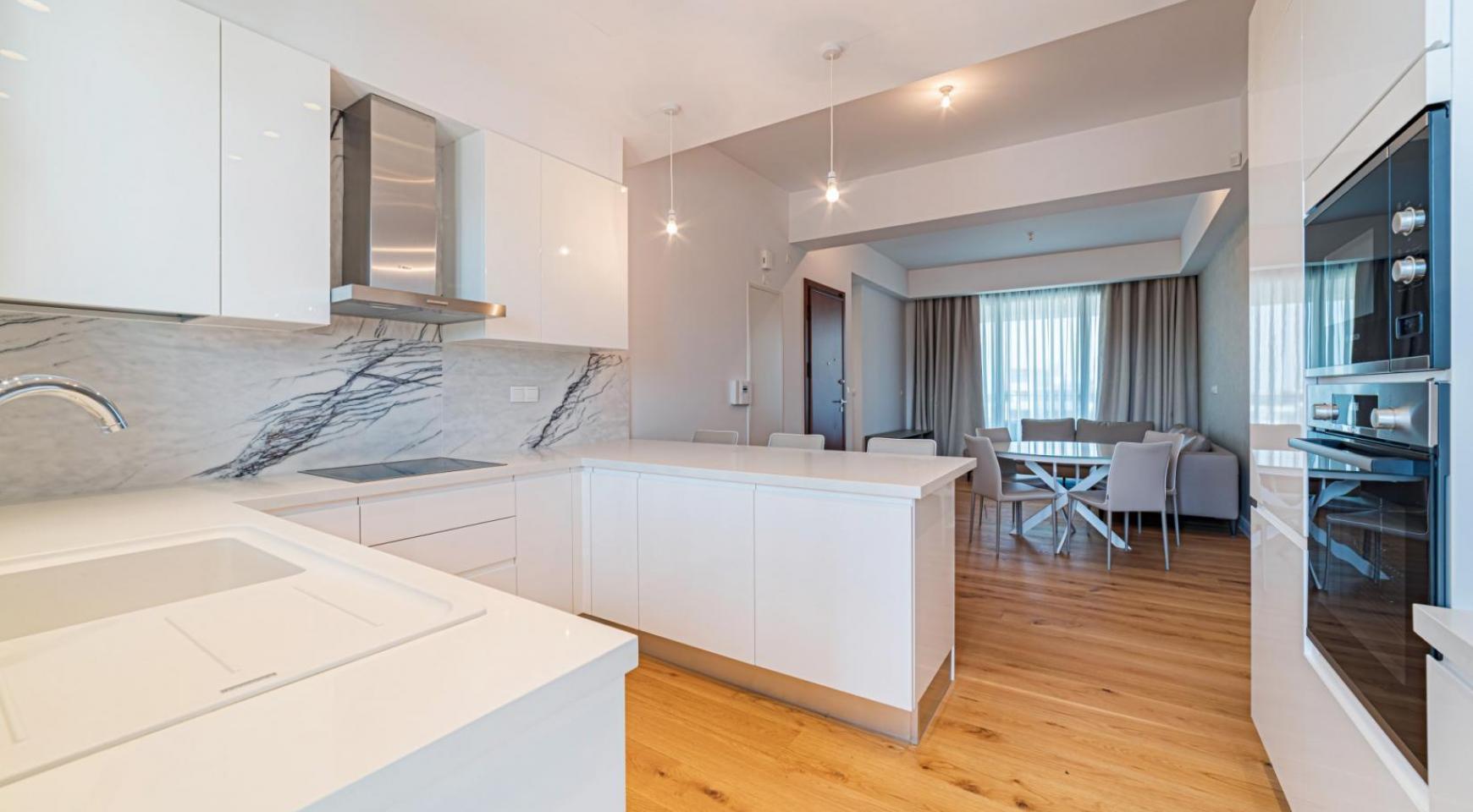 Malibu Residence. Элитный 3-Спальный Пентхаус 401 с Частным Бассейном - 11