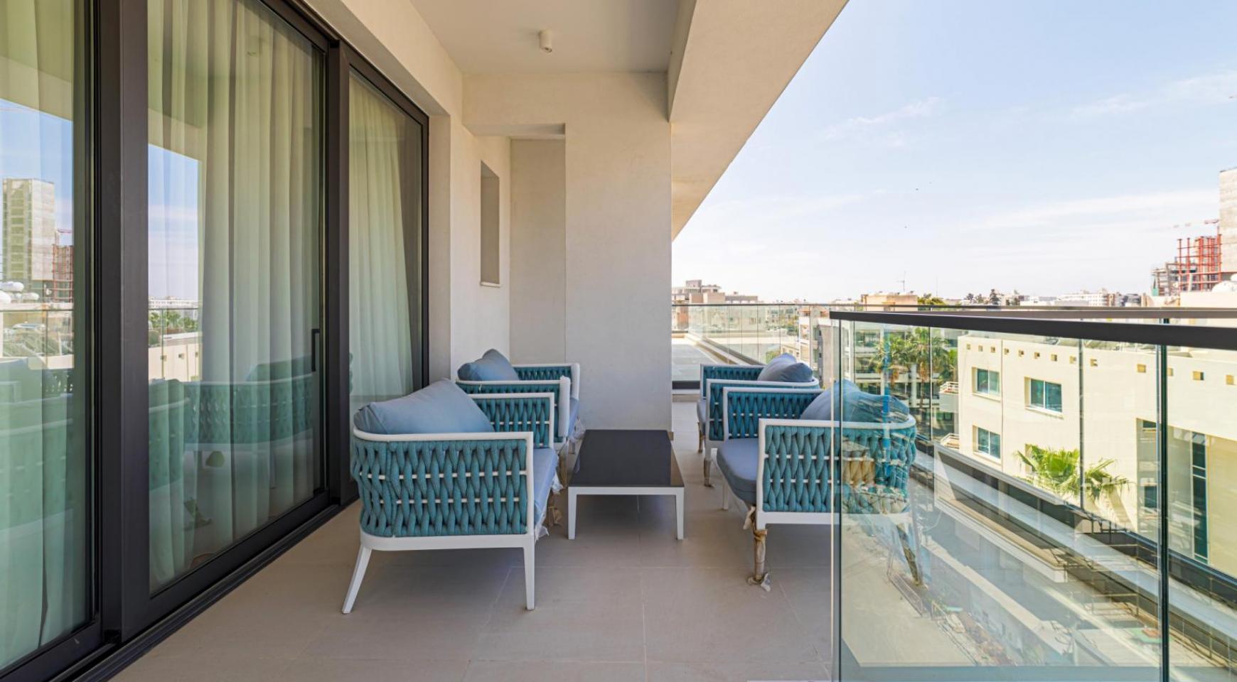Malibu Residence. Элитный 3-Спальный Пентхаус 401 с Частным Бассейном - 34