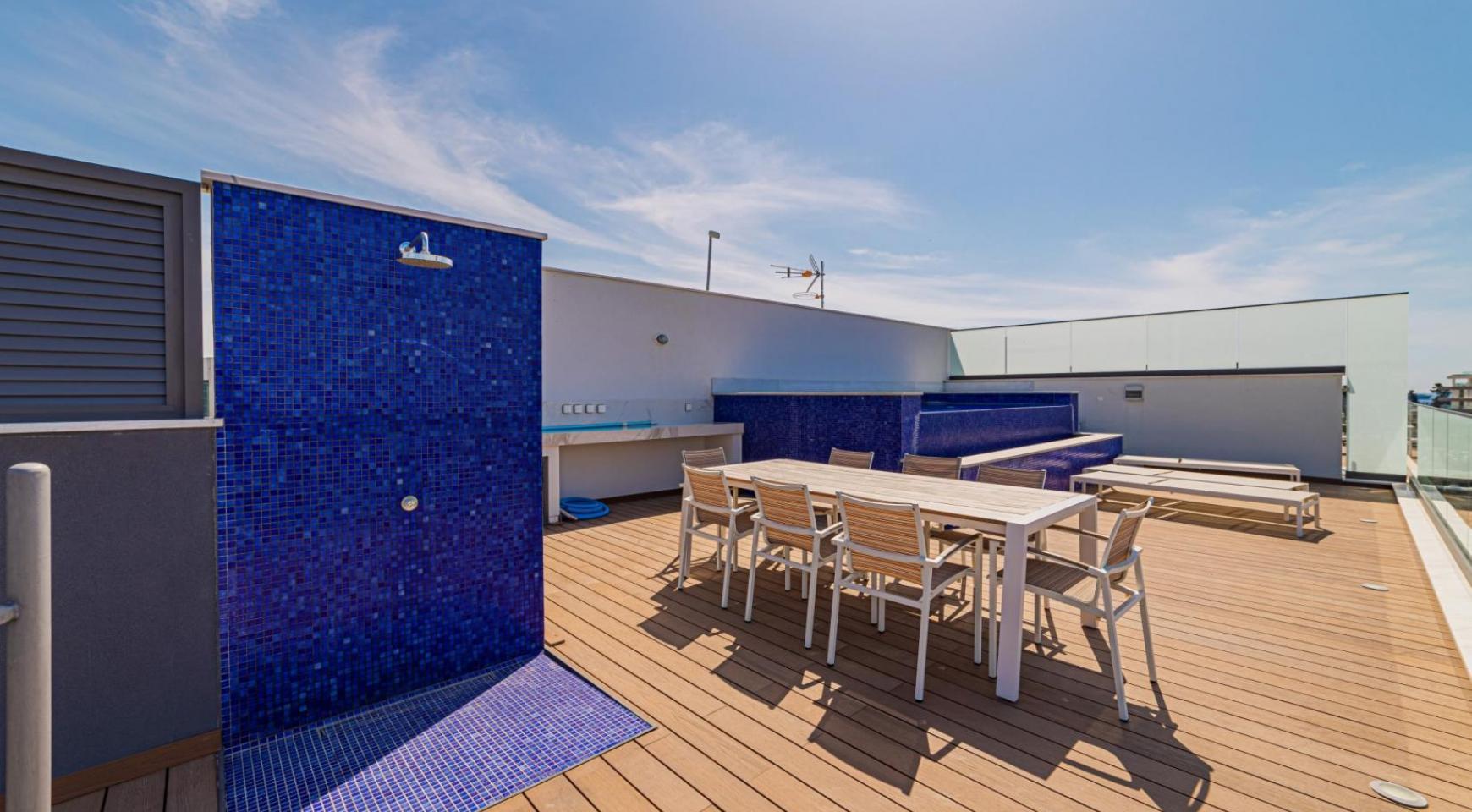 Malibu Residence. Элитный 3-Спальный Пентхаус 401 с Частным Бассейном - 36