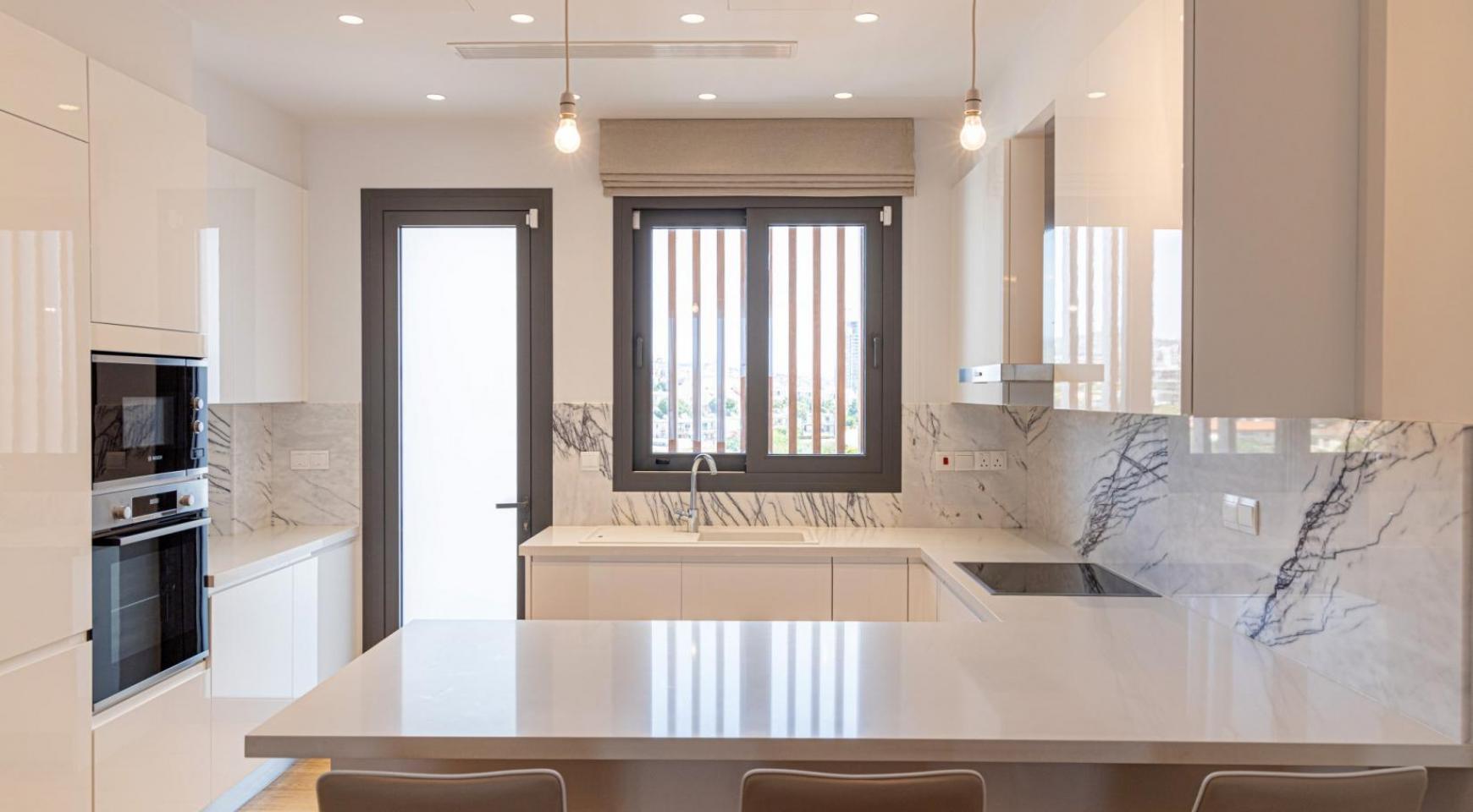 Malibu Residence. Элитный 3-Спальный Пентхаус 401 с Частным Бассейном - 10