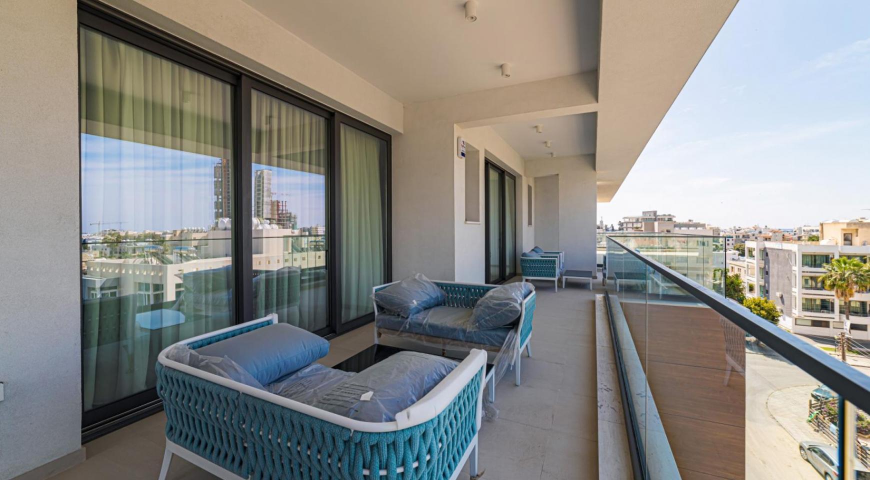 Malibu Residence. Элитный 3-Спальный Пентхаус 401 с Частным Бассейном - 33