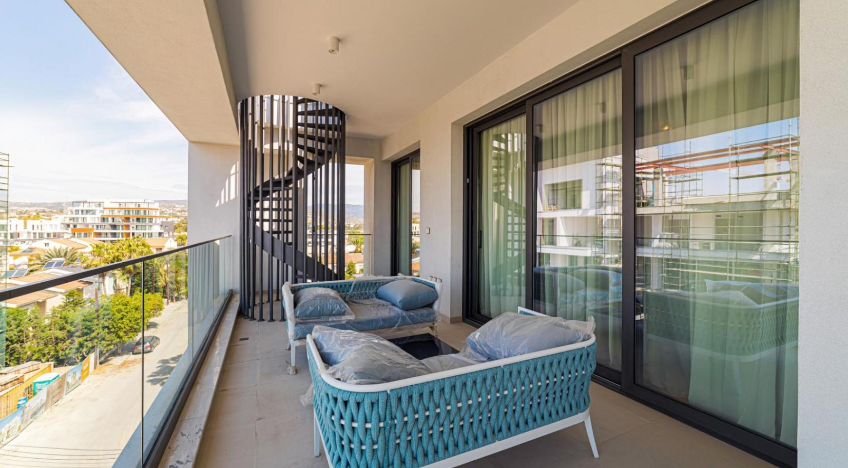 Malibu Residence. Элитный 3-Спальный Пентхаус 401 с Частным Бассейном - 35
