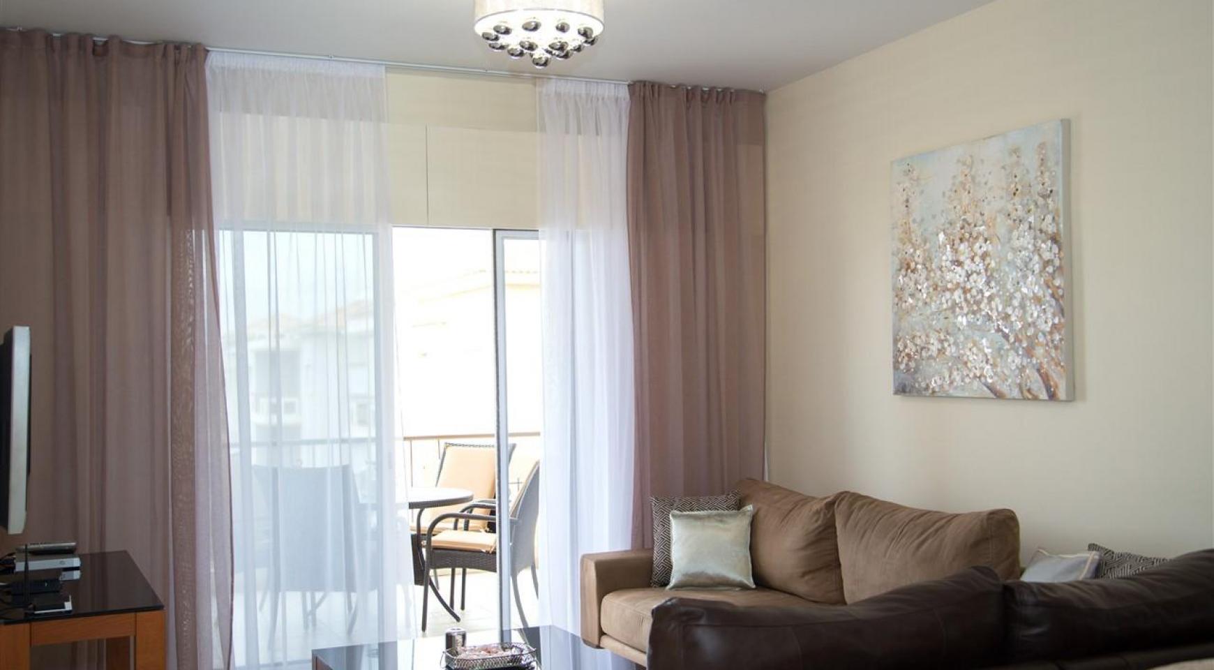 """2-Спальная Квартира - Люкс """"Mesogios Iris 304"""" в Туристической Зоне возле Моря - 1"""