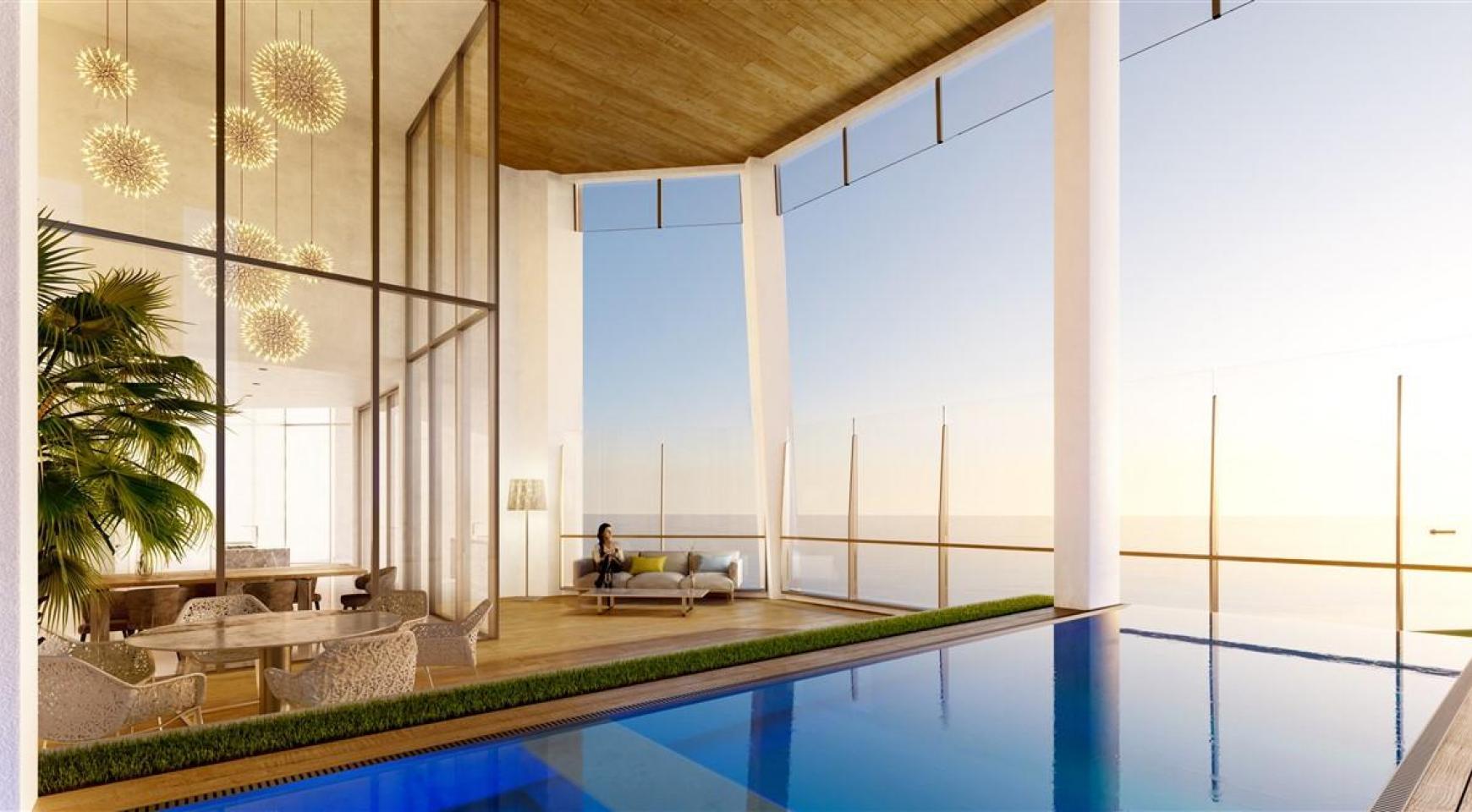 Sky Tower. Элитная 2-Спальная Квартира с Изумительным Видом на Море - 5