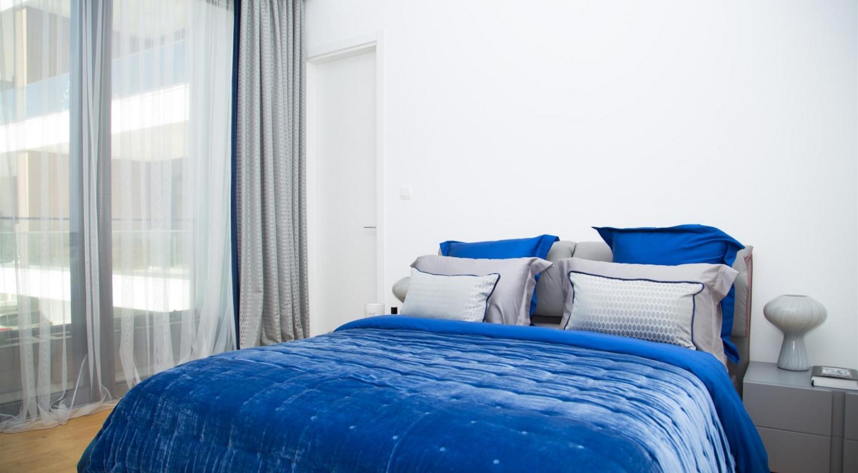 Malibu Residence. Современная  Односпальная Квартира 102 в Туристической Зоне - 15