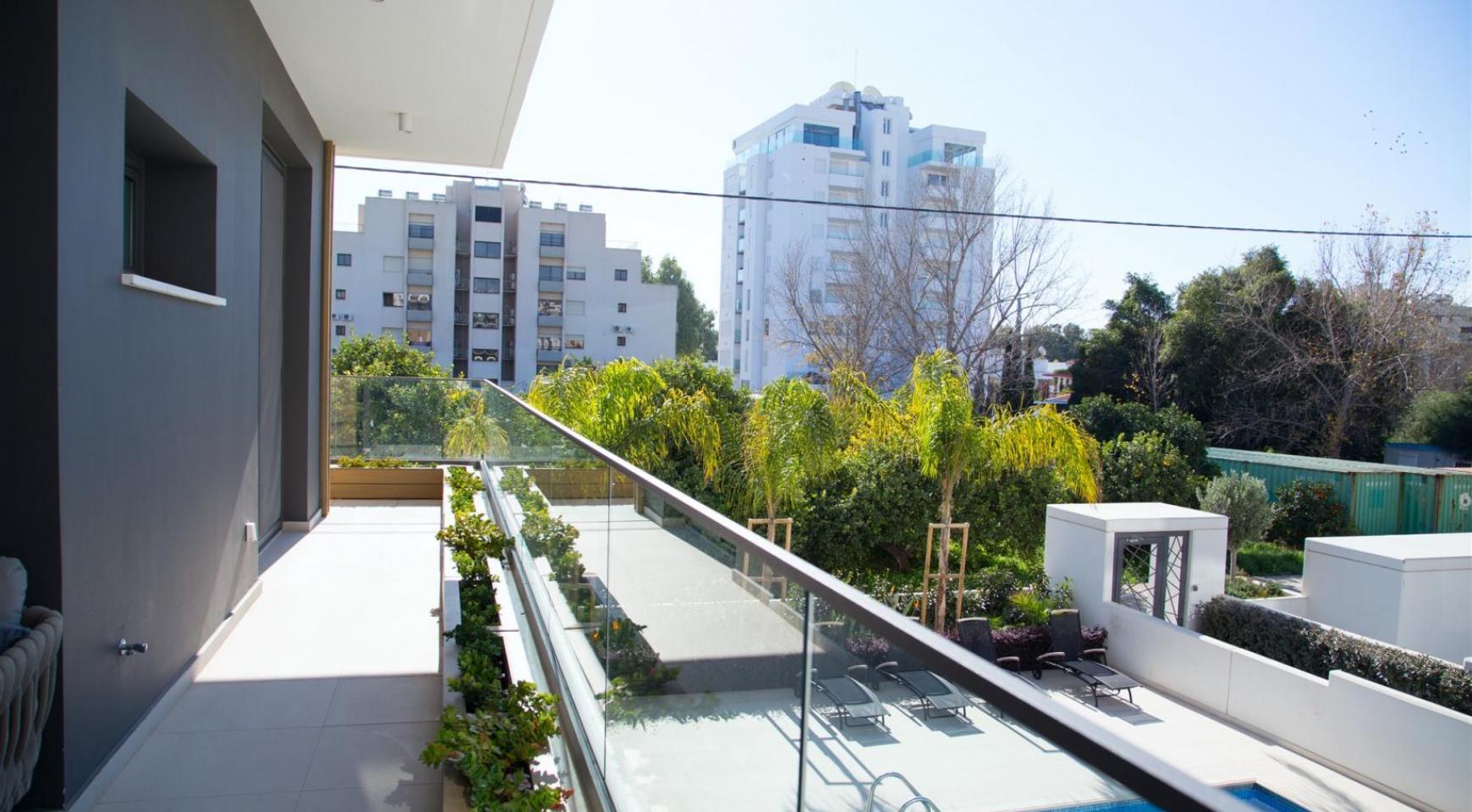 Malibu Residence. Современная  Односпальная Квартира 102 в Туристической Зоне - 24