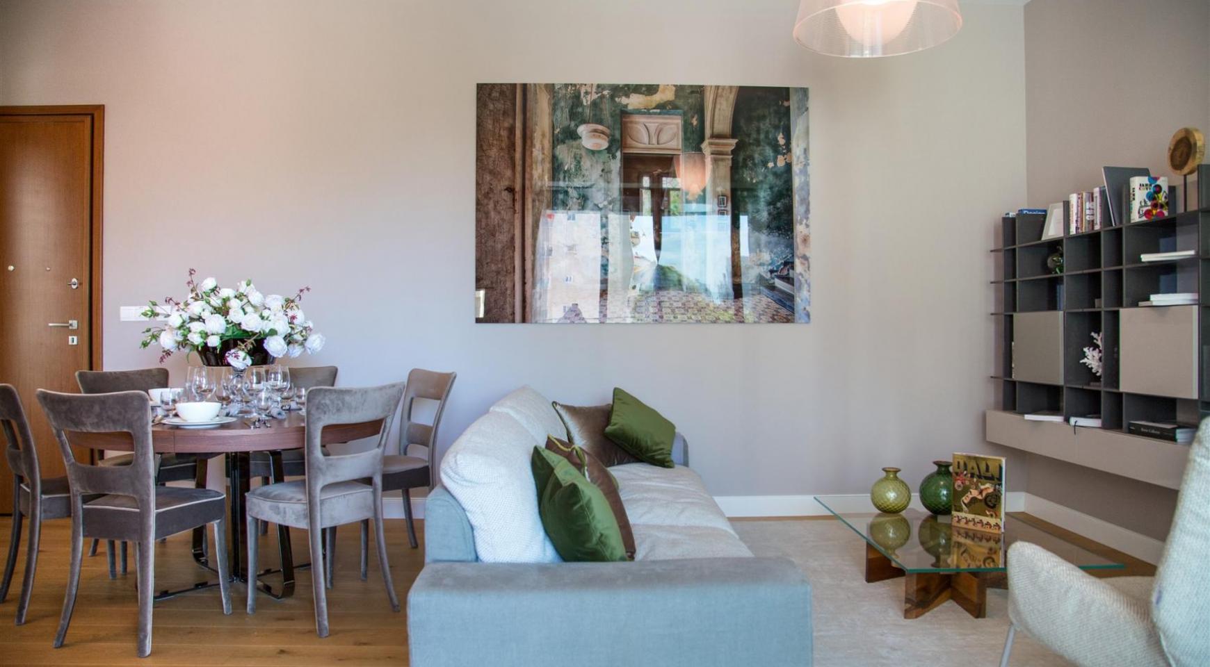 Malibu Residence. Современная  Односпальная Квартира 102 в Туристической Зоне - 3