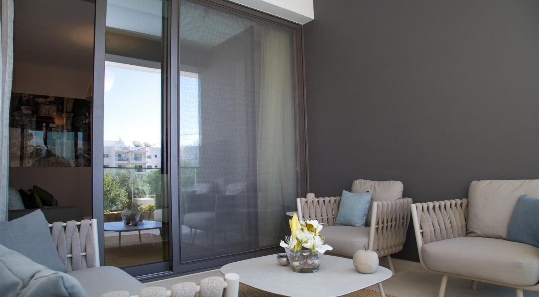 Malibu Residence. Современная  Односпальная Квартира 102 в Туристической Зоне - 26