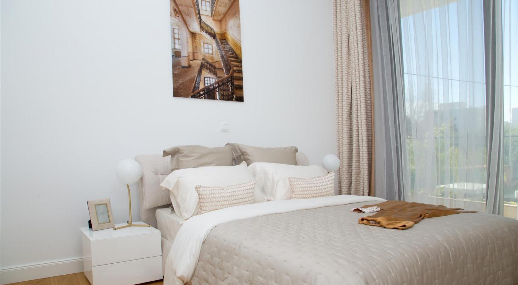 Malibu Residence. Современная  Односпальная Квартира 102 в Туристической Зоне - 21