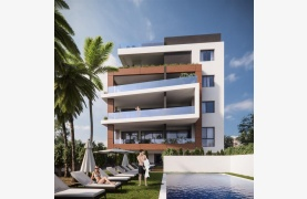 Malibu Residence. Современная  Односпальная Квартира 102 в Туристической Зоне - 39