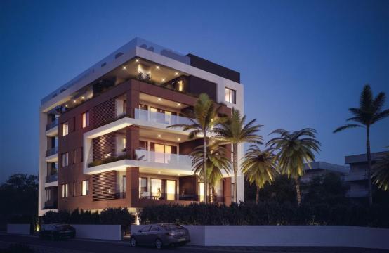 Malibu Residence. Современная  Односпальная Квартира 102 в Туристической Зоне