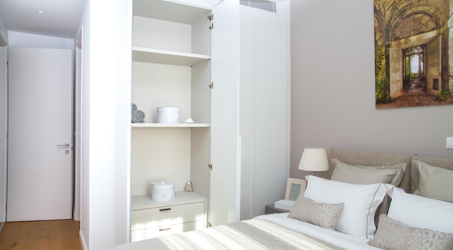 Malibu Residence. Новая Современная 3-Спальная Квартира 202 в Элитном Комплексе - 26