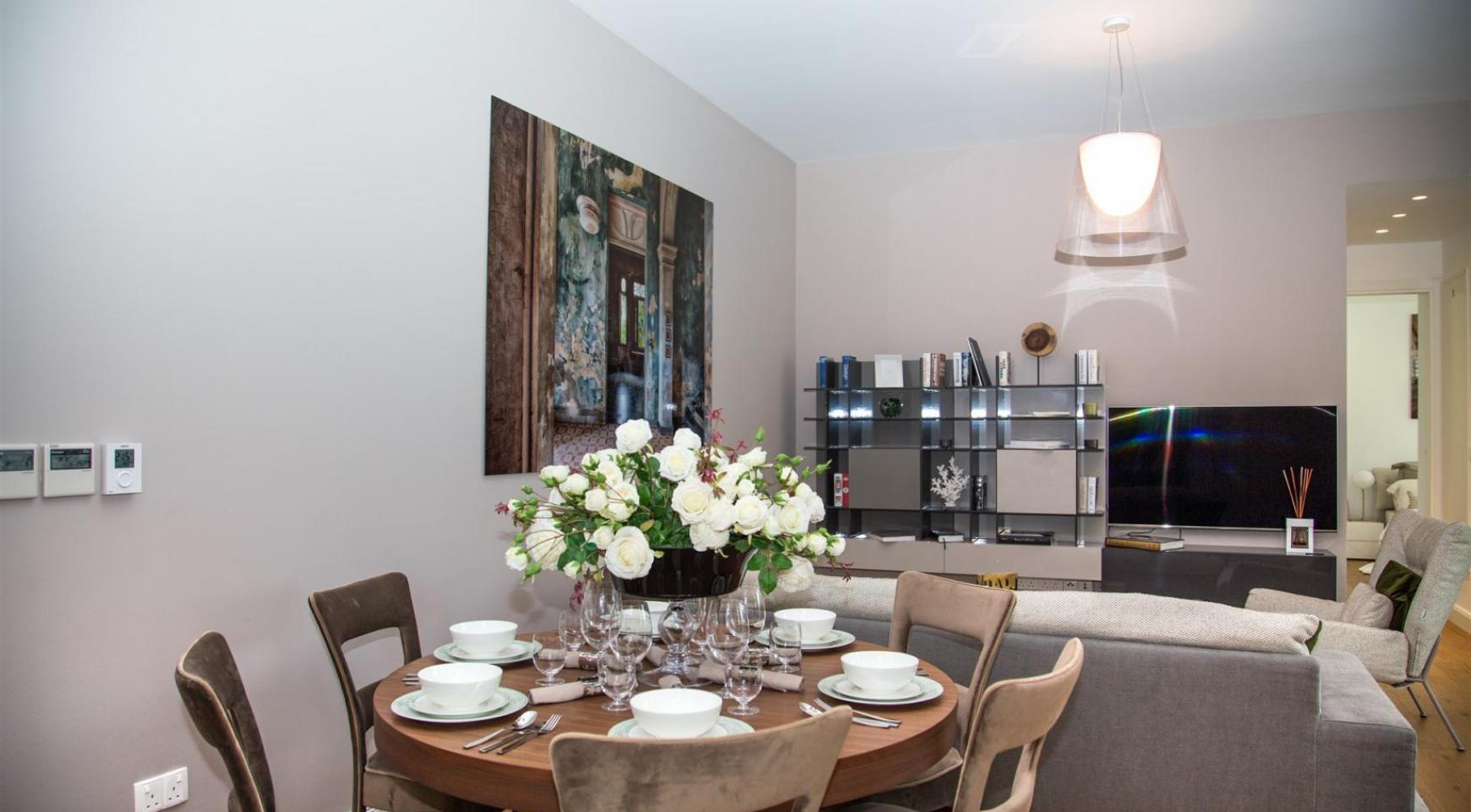 Malibu Residence. Новая Современная 3-Спальная Квартира 202 в Элитном Комплексе - 16