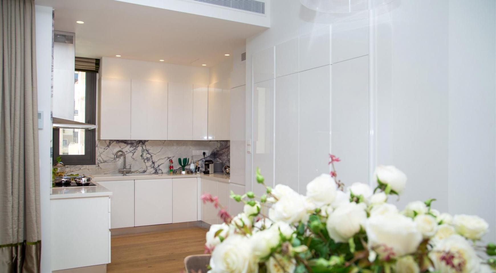 Malibu Residence. Новая Современная 3-Спальная Квартира 202 в Элитном Комплексе - 19
