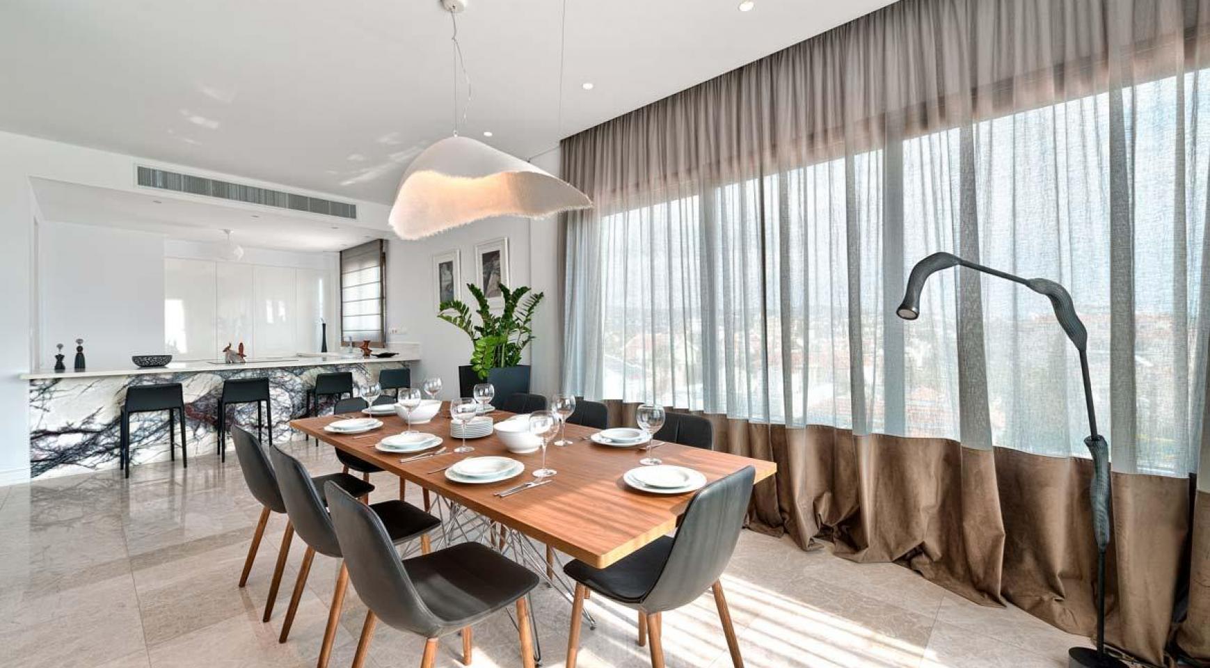 Malibu Residence. Новая Современная 3-Спальная Квартира в Элитном Комплексе - 9