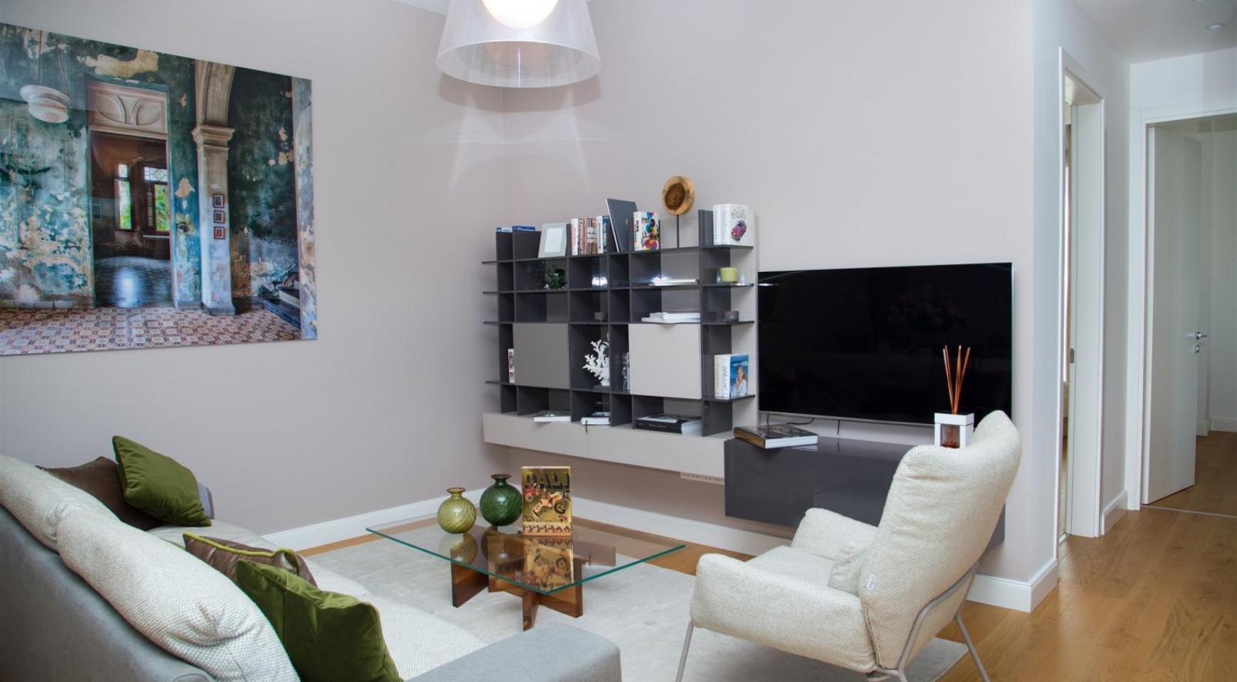 Malibu Residence. Новая Современная 3-Спальная Квартира 202 в Элитном Комплексе - 17