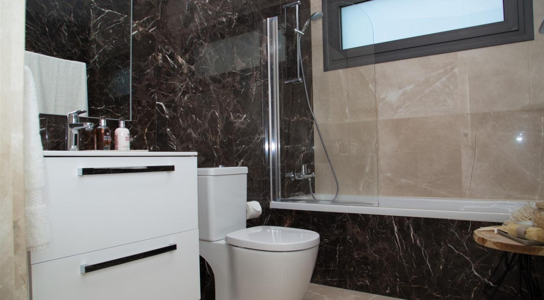Malibu Residence. Новая Современная 3-Спальная Квартира 202 в Элитном Комплексе - 29