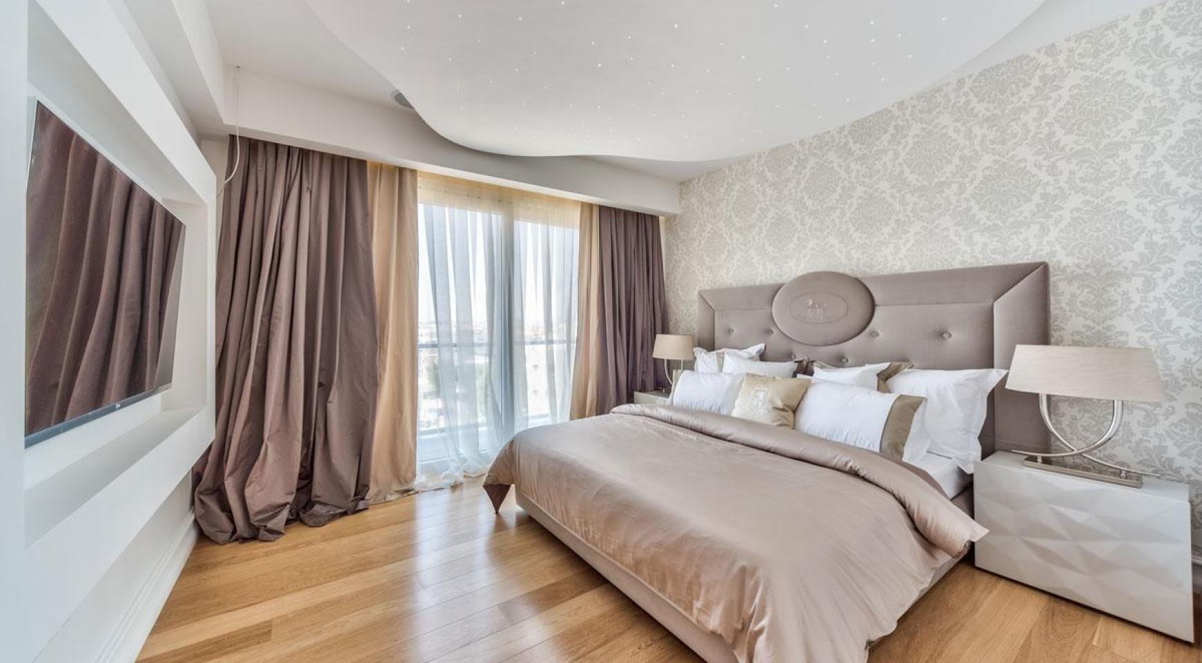 Malibu Residence. Новая Современная 3-Спальная Квартира 202 в Элитном Комплексе - 13