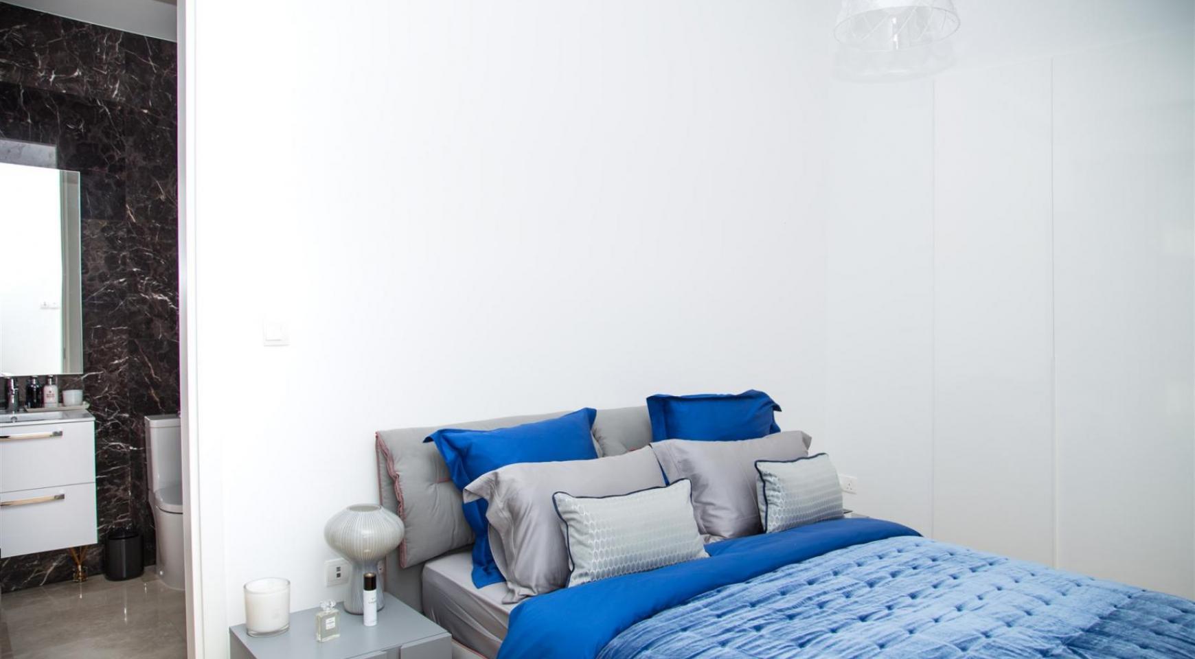Malibu Residence. Новая Современная 3-Спальная Квартира 202 в Элитном Комплексе - 22