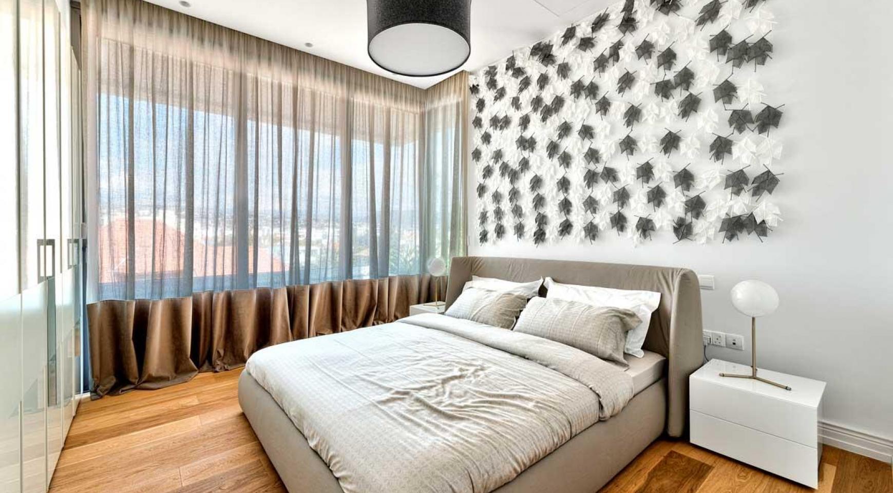 Malibu Residence. Новая Современная 3-Спальная Квартира 302 в Районе Потамос Гермасойя - 14
