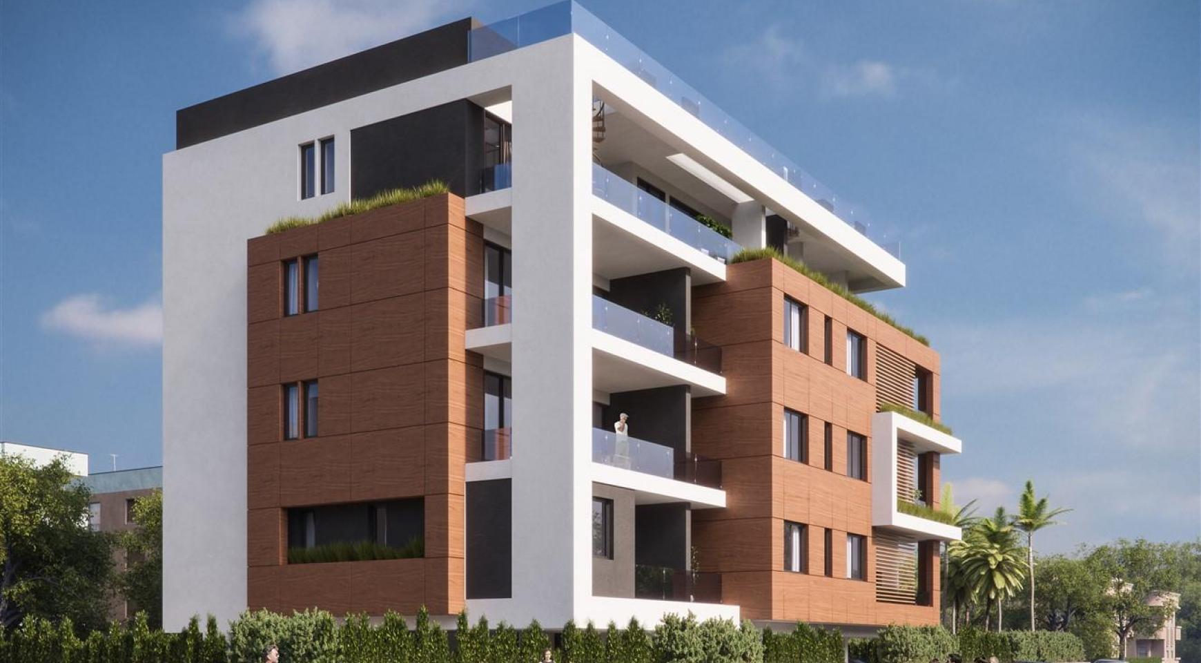 Malibu Residence. Новая Современная 3-Спальная Квартира 302 в Районе Потамос Гермасойя - 4
