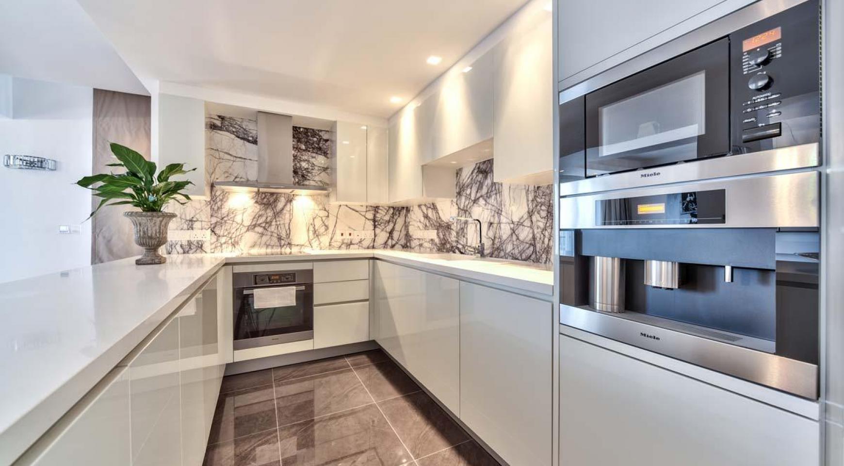 Malibu Residence. Новая Современная 3-Спальная Квартира 302 в Районе Потамос Гермасойя - 12