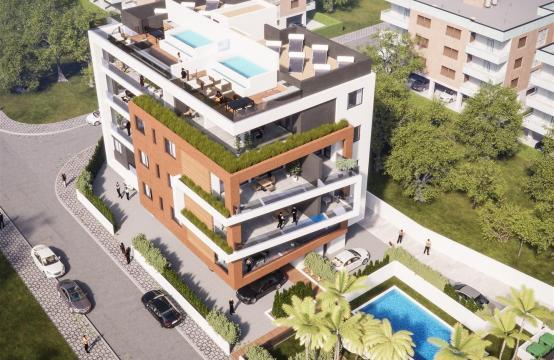 Malibu Residence. Новая Современная 3-Спальная Квартира 302 в Районе Потамос Гермасойя