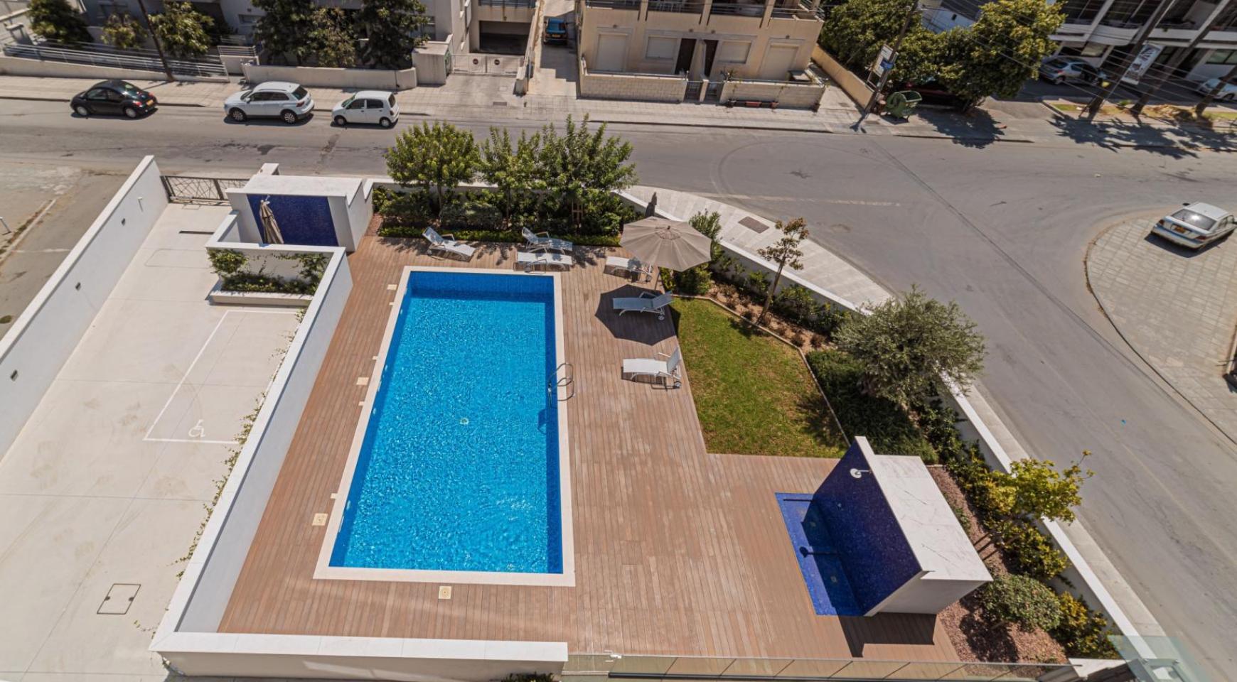 Malibu Residence. Современная  2-Спальная Квартира 303 в Районе Потамос Гермасойя - 29